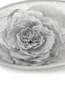 Jacques Vert Flower Feather Hat