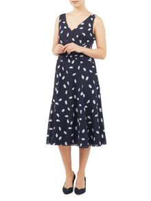 Jacques Vert Spotty Soft Prom Dress