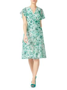 Jacques Vert Petite Printed Soft Dress