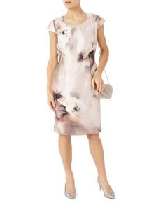Jacques Vert Petite Printed Santung Dress
