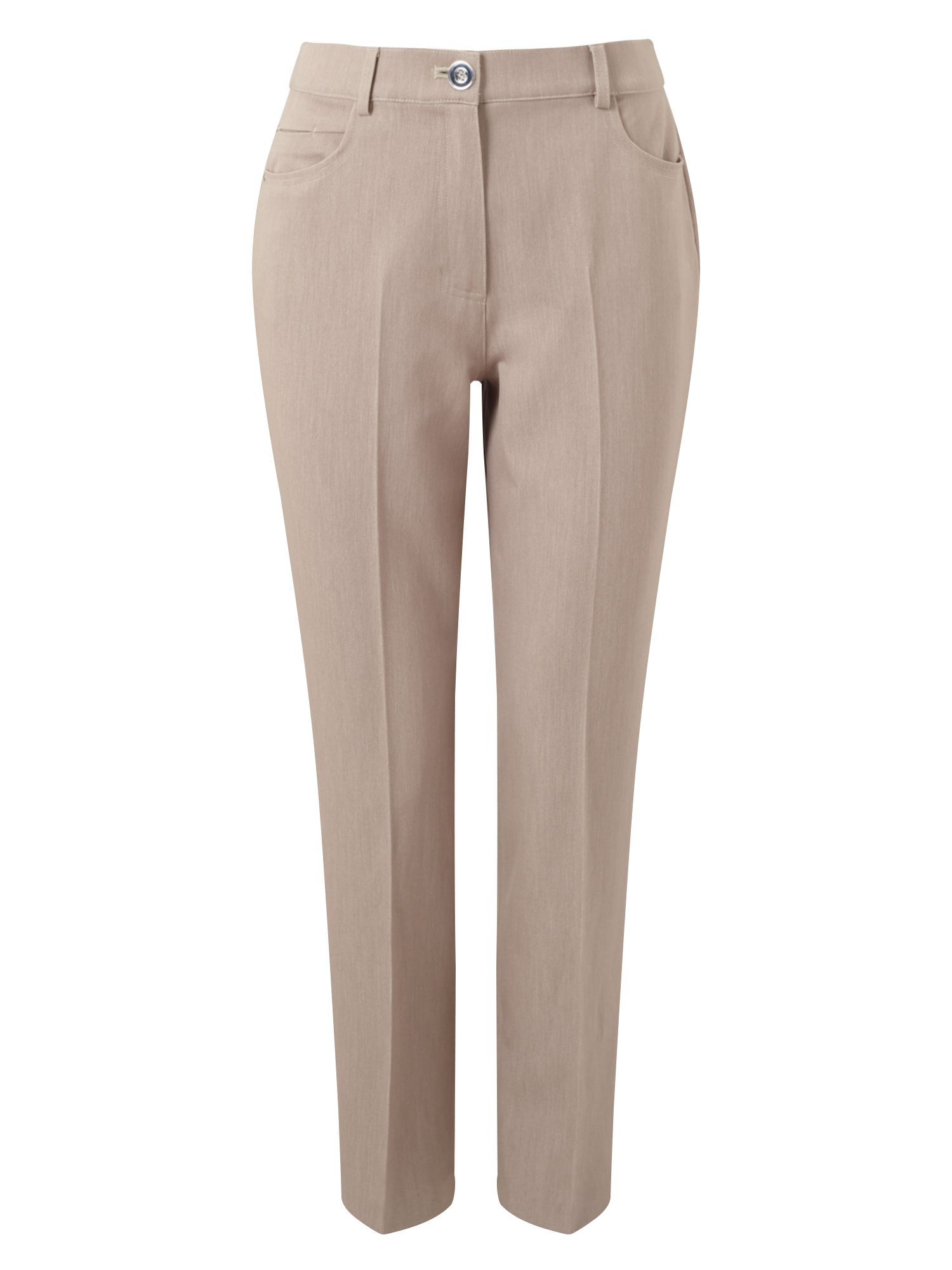 Eastex Straight Jean Trousers, Neutral