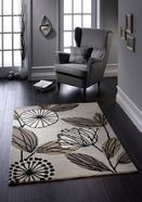 Origin Rugs Fifties Floral Wool Rug Natural Range