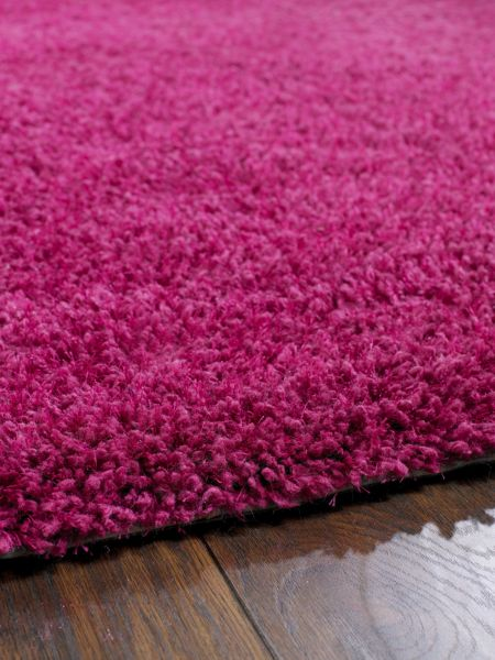 Origin Rugs Chicago Shaggy Rug Fuchsia 133CIR
