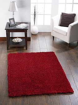 Chicago Shaggy Rug RED 110/160
