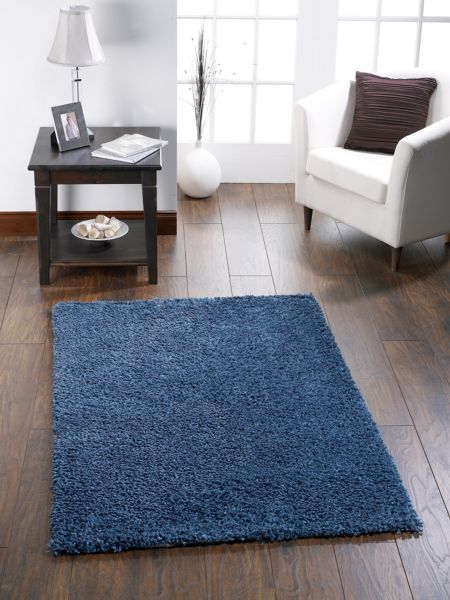 Origin Rugs Chicago Shaggy Rug DARK TEAL 140/200
