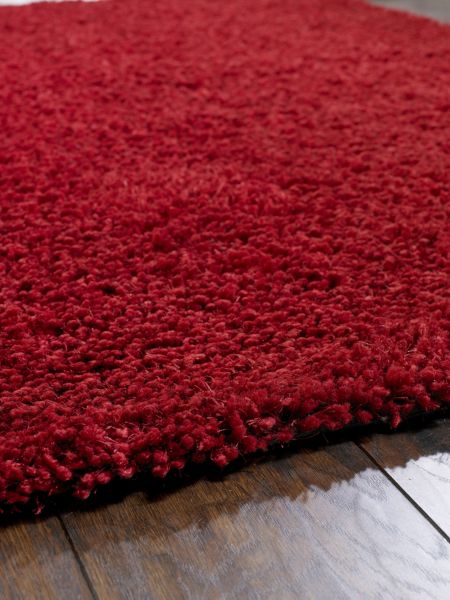 Origin Rugs Chicago Shaggy Rug RED 60/90