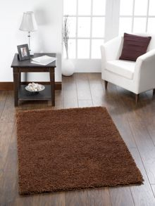 Chicago Shaggy Chocolate Rug Range