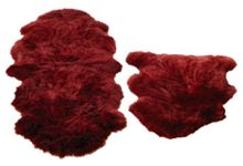 Origin Rugs Sheepskin berry double