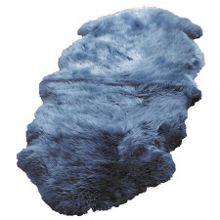 Origin Rugs Sheepskin teal single