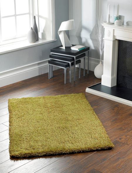 Origin Rugs Chicago Shaggy Rug OLIVE 90/150
