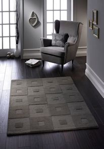 Manhatan Wool Rug Grey Range