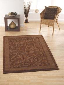 Autumn Rug Chocolate Range