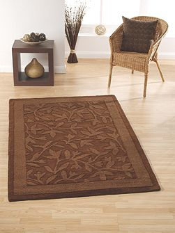 Autumn Rug Chocolate 90x150