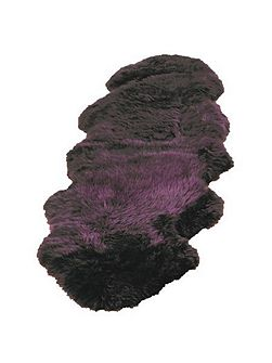 Sheepskin plum single