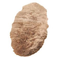 Origin Rugs Sheepskin mink  single