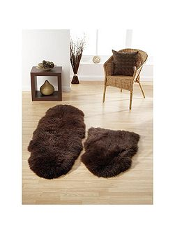 Sheepskin chocolate single