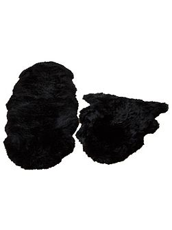 Sheepskin black double