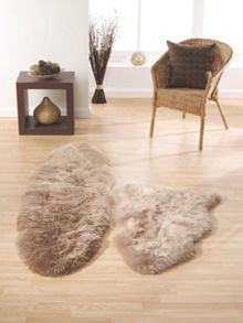Origin Rugs Sheepskin mink double