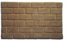 Hug Rug Bamboo Collection Mocha Brick 60x100