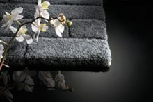Hug Rug Bamboo Collection Graphite Brick 60x100