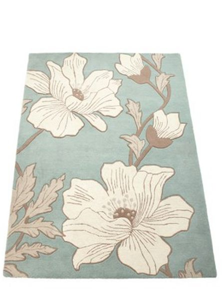 Origin Rugs Magnolia Wool Rug Duck Egg 160x230