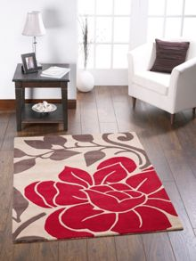 Sasha Wool Rug Red Range