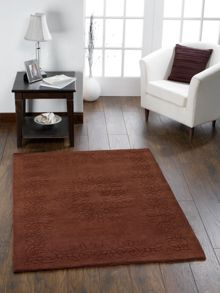 Gardenia Wool Rug Chocolate Range