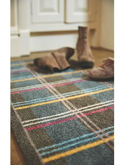 Muddle Mat Check 3 Runner 50X150 doormat