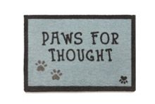 Howler & Scratch Howler & Scratch Thought 1 50x75 doormat