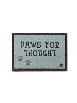 Howler & Scratch Thought 1 50x75 doormat