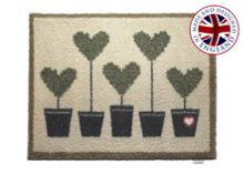 Entrance and garden range rug - topiary 10 65x85