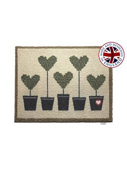 Entrance and garden range rug - topiary 10