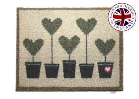 Hug Rug Entrance and garden range rug - topiary 10 65x85