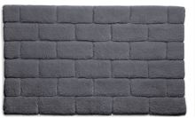 Hug Rug Bamboo Collection Graphite Brick 50x80