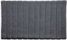 Hug Rug Bamboo Collection Graphite Stripe 50x80
