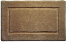 Hug Rug Bamboo Collection Mocha Border 50x80