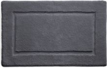 Hug Rug Bamboo Collection Graphite Border 50x80