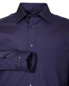 Non iron poplin long-sleeve shirt