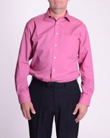 Double TWO Non iron poplin long-sleeve shirt