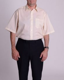 Double TWO King Size classic shirt sleeve shirt