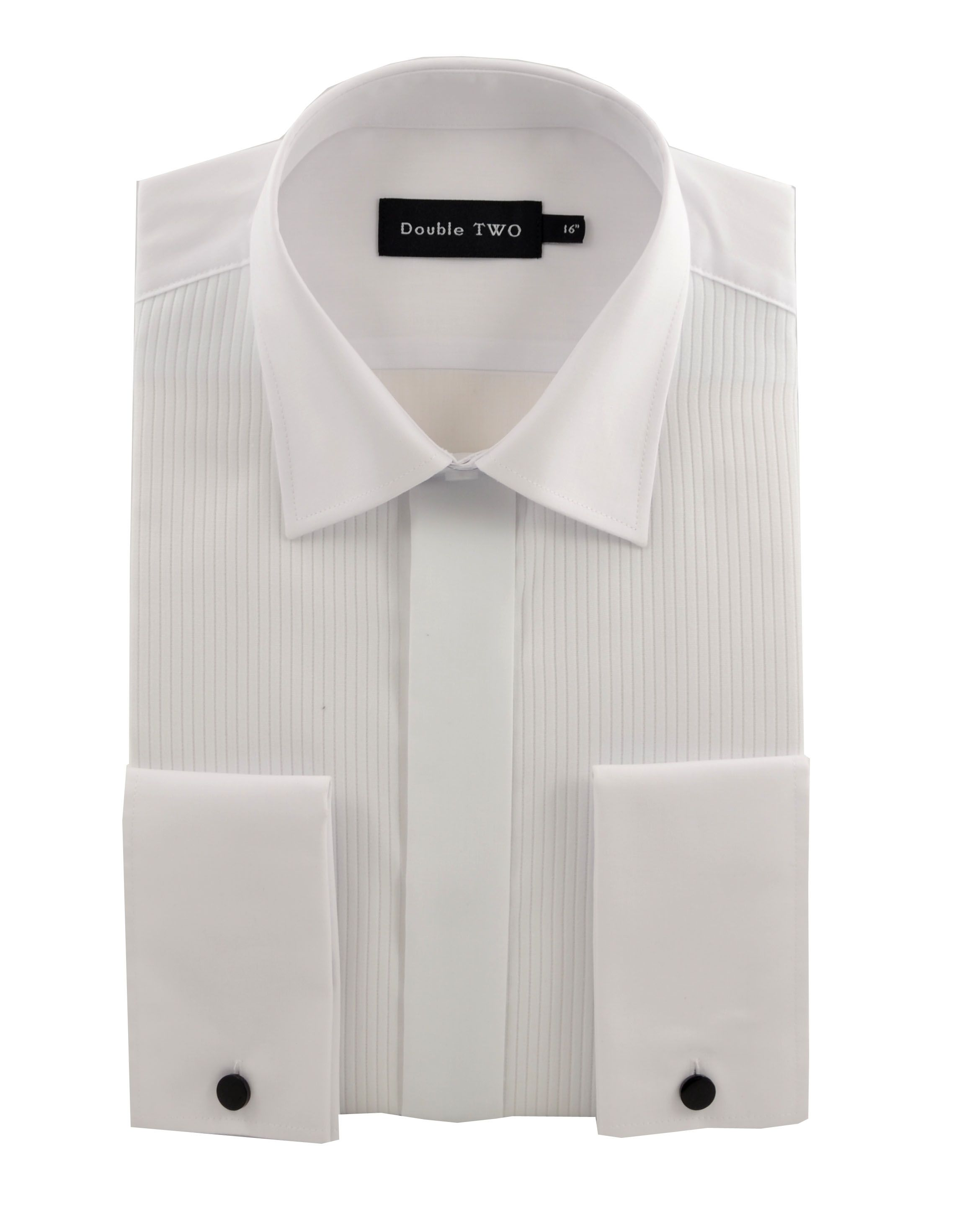 King Size ribbed pique dress shirt