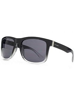 26BEN002 Clear Rectangle Sunglasses