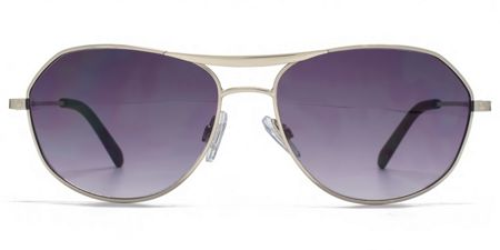 Ben Sherman 26BEN005 Matt Silver Aviator Sunglasses