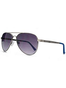 26BEN011 Grey Aviator Sunglasses