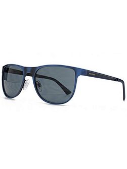 26BEN017 Matt Blue Wayfarer Sunglasses