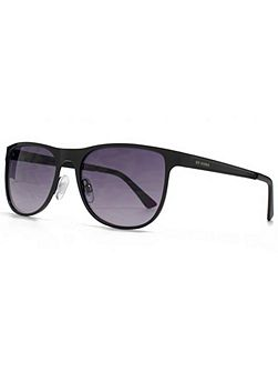 26BEN018 Matt Black Wayfarer Sunglasses