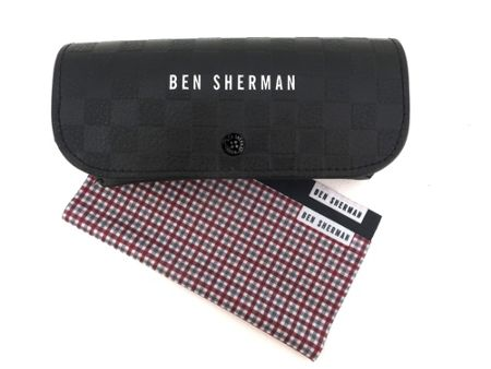 Ben Sherman 26BEN021 Brushed Gun Square Sunglasses
