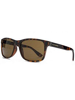 26BEN022 Dark Tort Rectangle Sunglasses