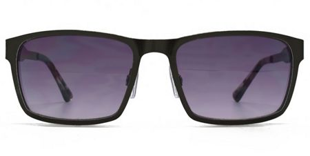 Ben Sherman 26BEN026 Matt Black Rectangle Sunglasses