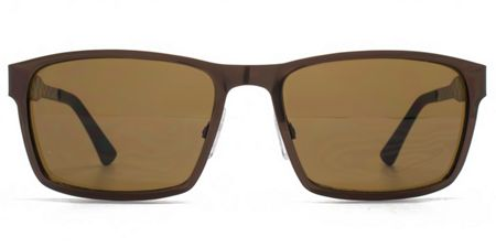 Ben Sherman 26BEN027 Matt Brown Rectangle Sunglasses